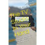 book cover TV studio in your hand