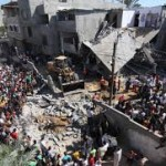 Palestinian damage
